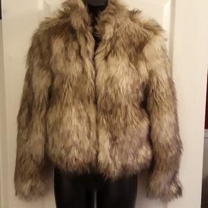 NWT Fashionova Faux Fur Coat